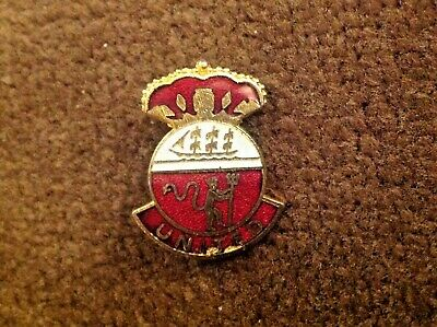 Manchester United Red Devils Crown Enamel Pin Badge By Coffer Rare