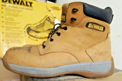 Dewalt Bolster Leather Safety Steel Toe Work Boots Honey Tan Uk 9 / Eu 43 A1087
