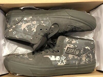 717a72130b VANS MEN S HALF Cab Green Gray WTAPS Digital Camo SZ 11.5 -  70.00 ...