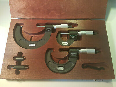 Starrett ST216AXRLZ Outside Digital Micrometer Set | Invoice + 2 Years Warranty