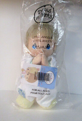 "Precious Moments Little Angels Joshua 10"" Plush Doll New"