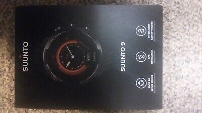 Suunto 9 Baro GPS Multisport Watch - New