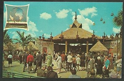 Caribbean Pavilion New York Worlds Fair Tourists Dominican Republic Bermuda