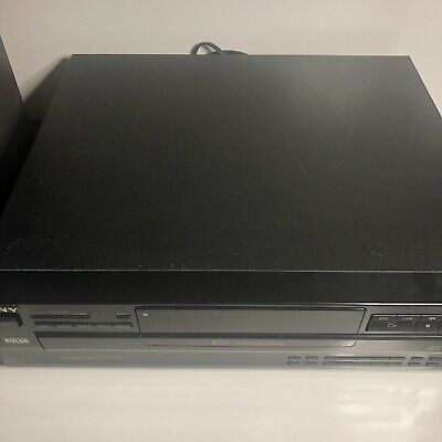 SONY CDP-C345 5 Disc CD Changer Player W/ Remote