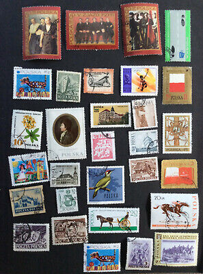Poland...mixed lot of Used...See Photo.