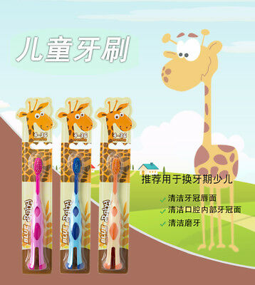 1PC Portable Children's Kids Toothbrush Super Soft Tooth Teeth Cleaning Brush