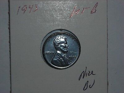 wheat penny 1943 LINCOLN CENT STEEL BU 1943-P NICE UNC DETAILS LOT #B