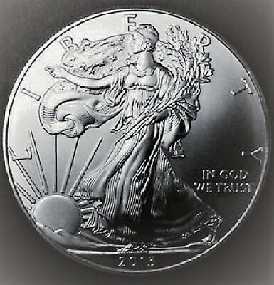 2013 American Silver Eagle BU 1 oz Coin US $1 Dollar Uncirculated Brilliant *213