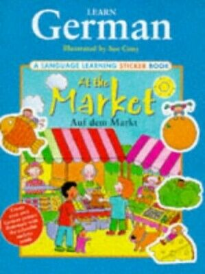 Learn German: At the Market (Language Learning Sticker... Other book format Book