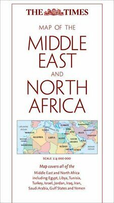 The Times Map of The Middle East and North Africa by Times Sheet map, folded The