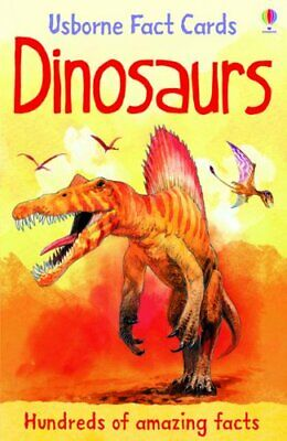 Dinosaurs (Usborne Fact Cards) (Facts and Lists) by Phil Clarke Cards Book The
