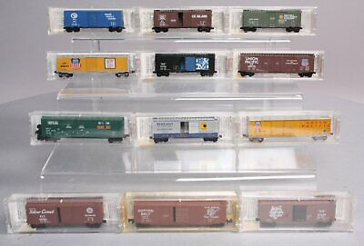 MicroTrains N Scale Freight Cars: 20029, 33121-1, 20660, 36030, 77090, Etc [12]