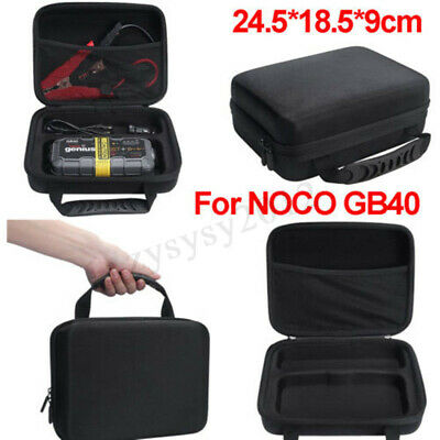 Hard EVA Carry Case Storage Bag For NOCO GENIUS GB40 Boost Battery Charger