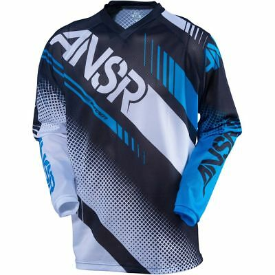 Answer Syncron Air Jersey Only White/black/cyan