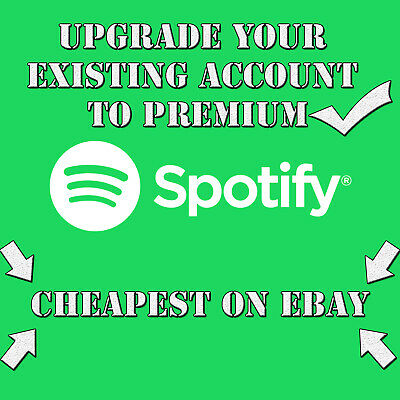 Spotify Premium LIFETIME | UPGRADE YOUR OWN EXISTING ACCOUNT | CHEAPEST