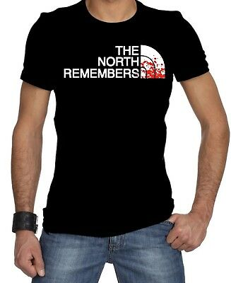 Limited !!! Neu Game Of Thrones The North Remembers T Shirt S-5XL