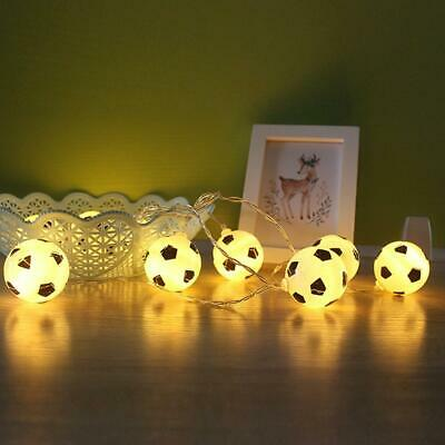 20 Pcs or 10 Pcs Creative Football Bulb LED Light String Battery Powered WST 01
