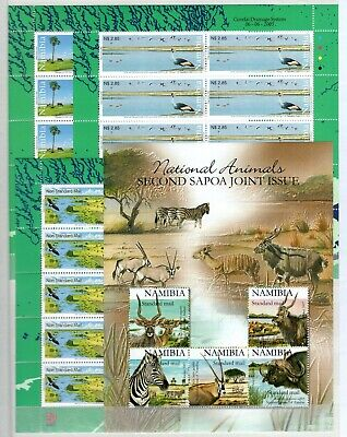 A106550/ Namibie / Namibia / Lot 2003 - 2009 Neuf ** / Mnh Complete 106 €