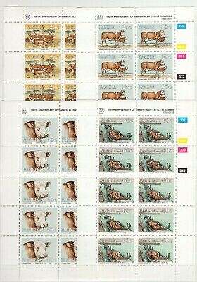 A106551/ Namibie / Namibia / Animal / Lot 1993 - 1997 Mnh Complete 102 €