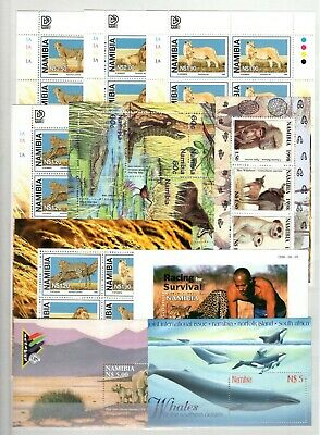 A106553/ Namibie / Namibia / Animal / Lot 1998 Neuf ** / Mnh Complete