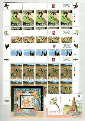 A106557/ Namibia / Flora / Y&t # 915 / 918 (Sheets) – Bf56 / Bf57 Mnh Complete