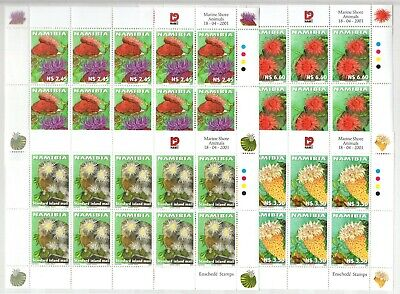 A106559/ Namibie / Namibia / Fauna / Y&t # 923 / 926 (Sheets) Mnh Complete