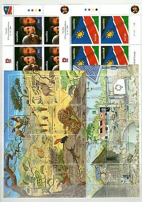 A106568/ Namibie / Namibia / Lot 2000 - 2001 Neuf ** / Mnh Complete 116 €