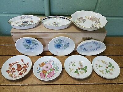 Collection 10 Wedgwood Ornamental Small Plates and Dishes 34D