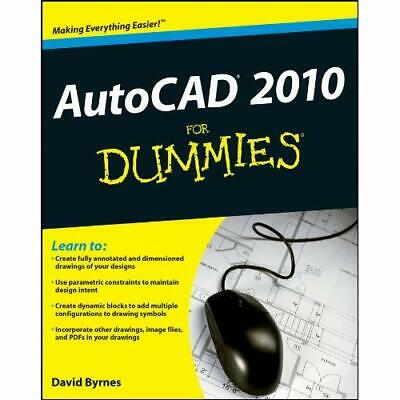 AutoCAD 2010 for Dummies - Paperback NEW Byrnes, David 2009-05-08