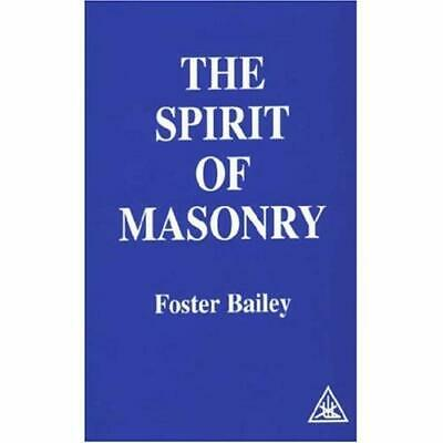 The Spirit of Masonry - Paperback NEW Foster Bailey ( 1979-06
