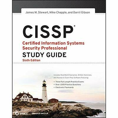 CISSP: Certified Information Systems Security Professio - Paperback NEW Stewart,