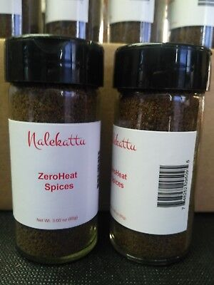 #1 Choice of Celebrity Chef Second to None in Culinary World ZeroHeat Spices
