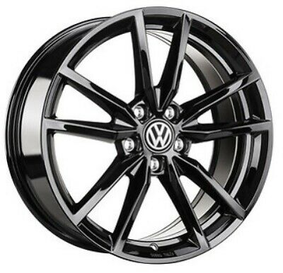 1 X Genuine Volkswagen Golf Mk7 18 Austin Alloy Wheel Gti Black