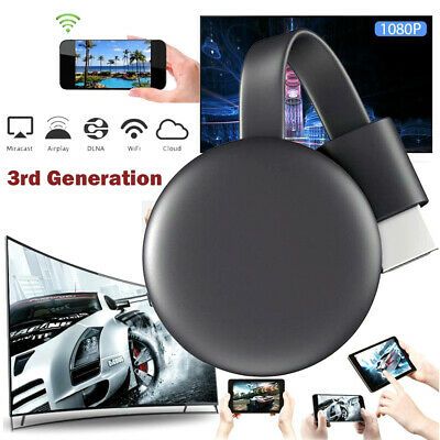 Miracast 1080P WiFi Display TV Dongle Wireless Receiver HDMI AirPlay DLNA Share