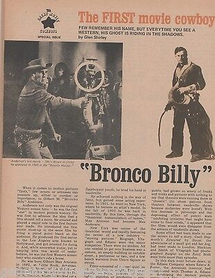 Bronco Billy Anderson - The Original Western Screen Actor+Aronson,Blackton