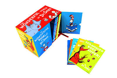 The Wonderful World of Dr Seuss Childrens Collection 20 Books Gift Box Set Pack
