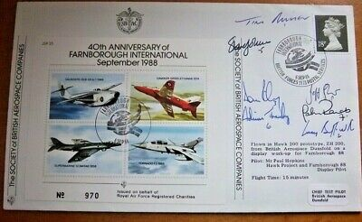 Rare - Jsf25 Special Signed By The Red Arrows Team Cover