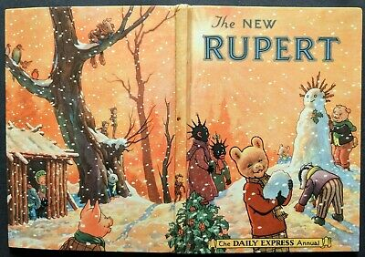 Rupert Annual 1954....original...not Inscribed Or Price-Clipped....a Superb Book