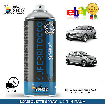 Spray Opel 157 Argento Star Silber