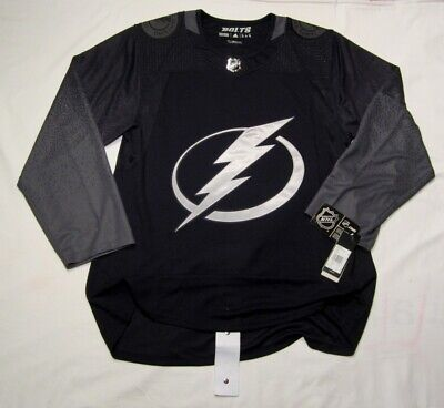 TAMPA BAY LIGHTNING size 46 = Small Alternate 3rd Style ADIDAS NHL HOCKEY JERSEY