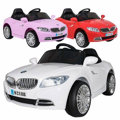 BMW Style Z4 Convertible 2 x 6V Battery Electric Ride On Sports Car Outdoor Toy