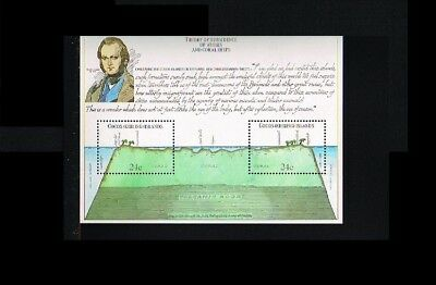 1981 - Cocos Islands Block MNH - Famous People - Charles Darwin [M03_09]