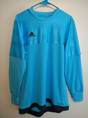 9df314bcd65 adidas Men's Climalite Entry 15 Goalkeeper Jersey Long Sleeve Sz S M L