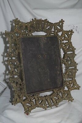 Picture Frames Antiques Antique Ornate Victorian Gold Large Picture Frame 1905 Unusual !!