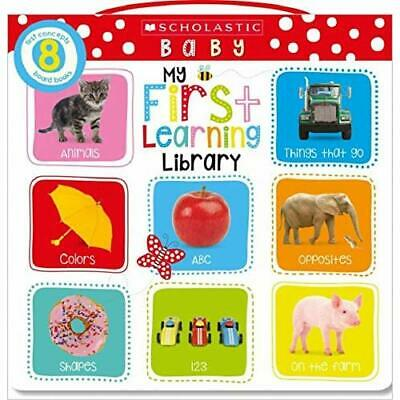 My First Learning Library Box Set (Scholastic Early Lea - Hardcover NEW Scholast