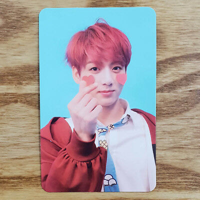 Jungkook Official Photocard BTS Love Yourself Answer F Version Genuine Kpop
