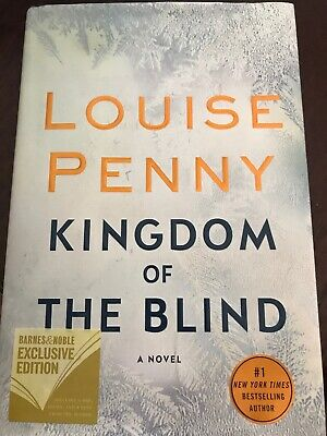 9781250208750 Kingdom of the Blind by Louise Penny