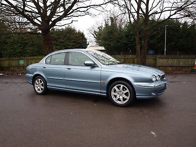 2002 52 Reg Jaguar X Type 2.1 Se Automatic  - New Mot - 15 Jag Stamps - Leather