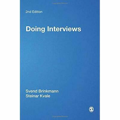 Doing Interviews (Qualitative Research Kit) - Paperback / softback NEW Brinkmann