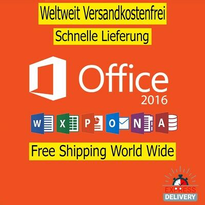 Microsoft Office 2016 Professional Plus clé de INSTANT DELIVERY